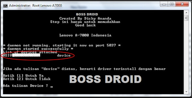 Cara Root Lenovo A7000 Via Pc/Laptop Terbaru