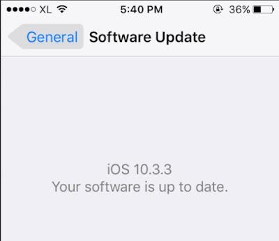 Cara Mengatasi Stuck saat Update iOS