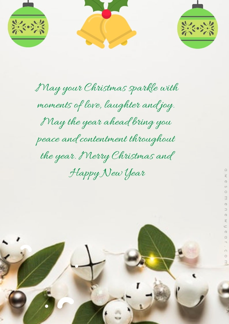 Christmas Card Sayings Quotes & Wishes Images