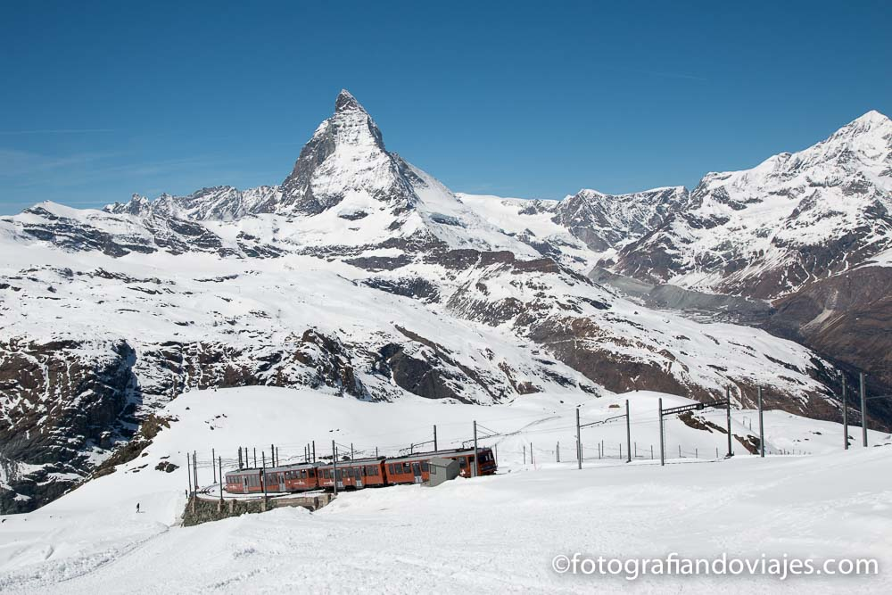 Matterhorn o monte Cervino desde Gornergrat, Zermatt