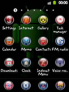Icon pack Football club Galaxy Young