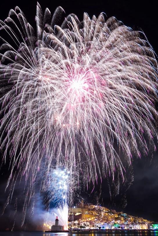 Fiestas de Ibiza - Fuegos artificiales
