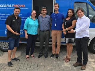 Sebrae Móvel atende empreendedores em Juquiá