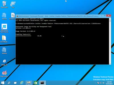 Cara Install .NET Framework 3.5 di Windows 10