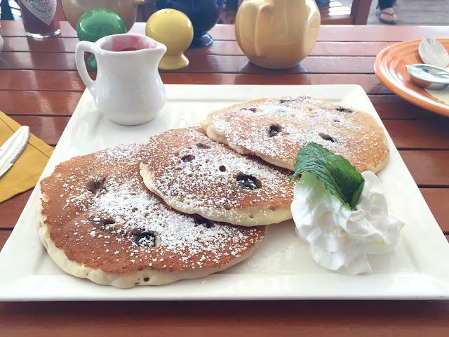 Beachcomber Cafe Lemon Ricotta Blueberry Pancakes