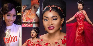 Red Dress Saga: Bride takes legal action against fashion designer who gave her wedding dress to Mercy Aigbe