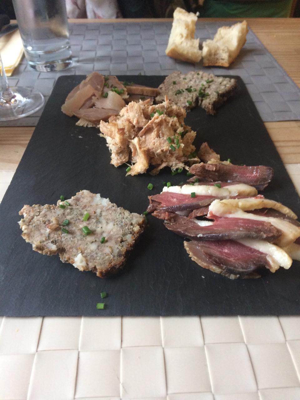 Jim S Loire Dinner Cafe De La Promenade Bourgueil
