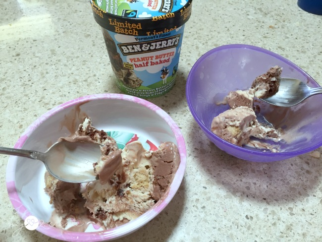 a personal ben and jerry's break