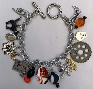 vintage style halloween jewelry from baubles brew at vintage halloween