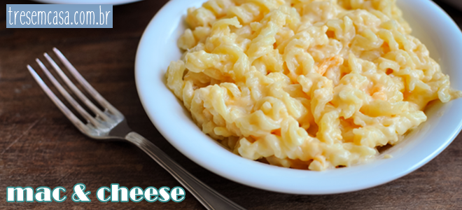 receita mac cheese
