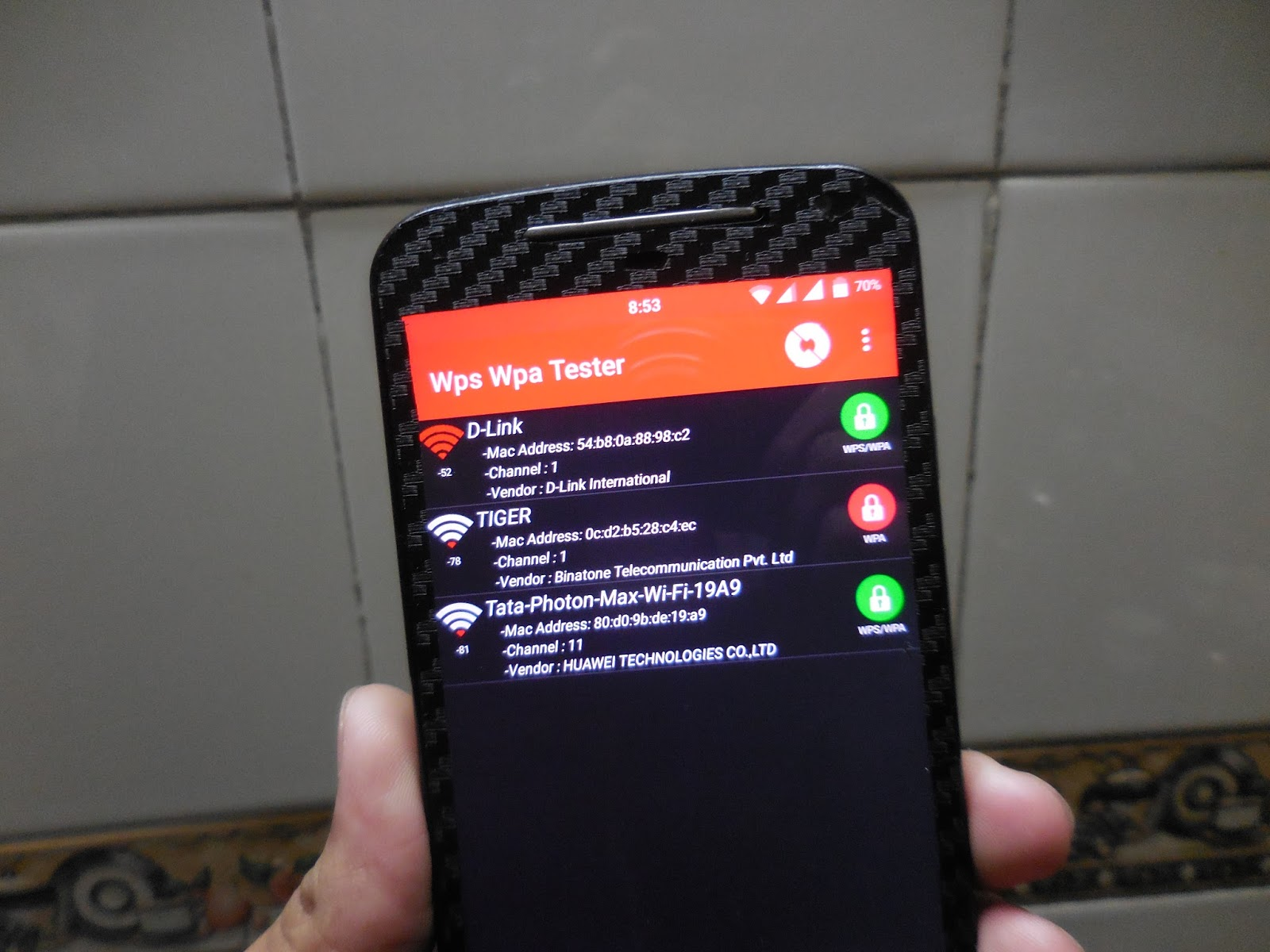 Wps pin hack for android