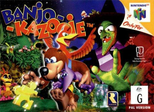ROMs - Banjo-Kazooie (Português) - N64 Download