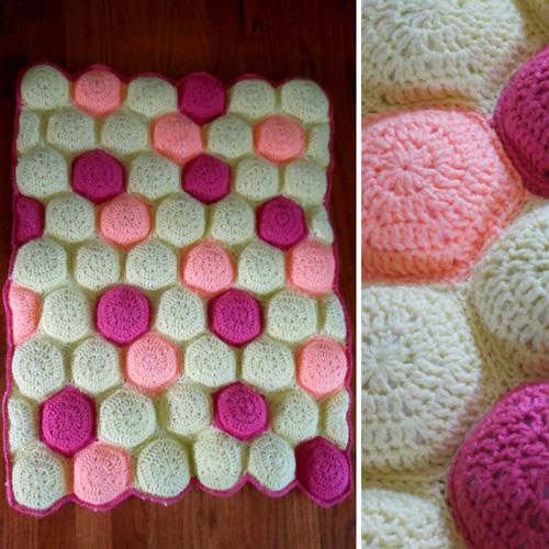 Hexa-Puff Baby - Free Pattern