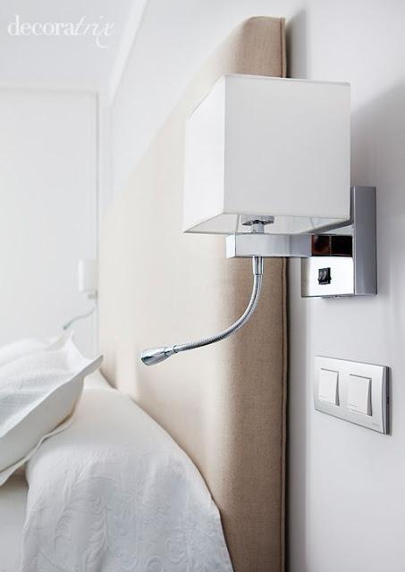 Decoraci n dormitorios 50 l mparas de dormitorios - Iluminacion habitacion matrimonio ...