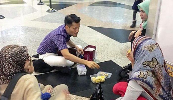 Aliff Syukri dikritik makan duiran di KLIA