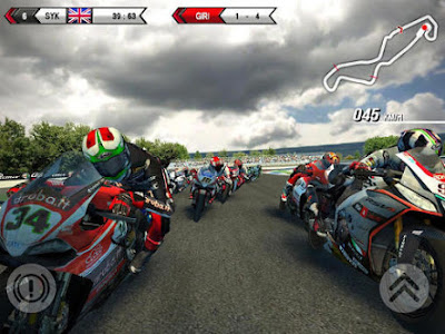 Game SBK15(Super Bike) apk + Data