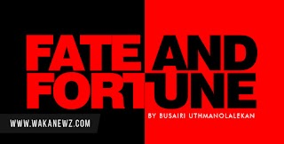FATE AND FORTUNE.... CHAPTER 1