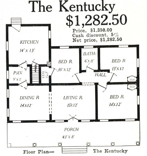 Aladdin Kentucky floor plan
