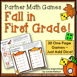 One Page Math Games!