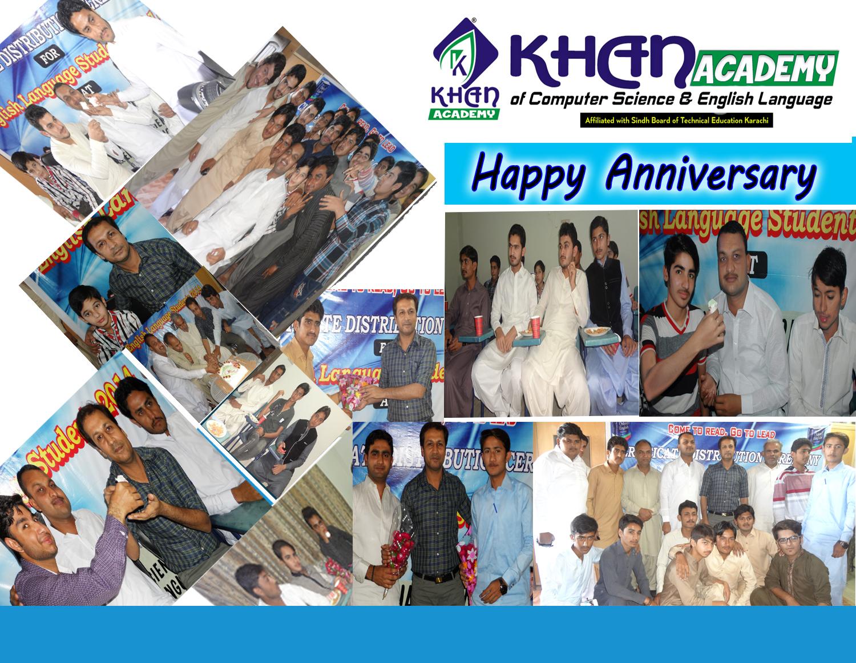 1st Anniversary of Khan Academy Sanghar     ~ Khan Academy