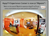 HyppTV Experience Corner is Now at TMpoint
