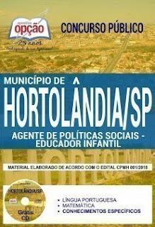 Download Apostila Município de Hortolândia 2018 PDF