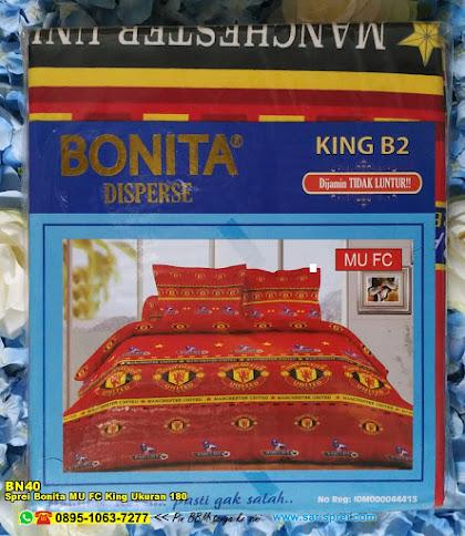 Sprei Bonita MU FC King Ukuran 180