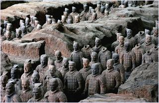 กองทัพทหารดินเผาเมืองซีอาน (The Terracotta Warriors)