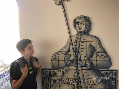 Javier y un guardián