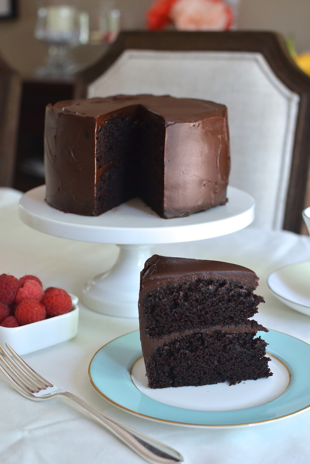 Layered Fudge Cake Recipe