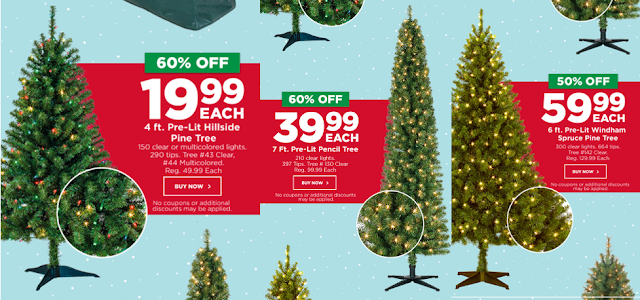 Michaels: 50-60% Off Pre-Lit Christmas Trees! Get 4ft for $19.99 ...