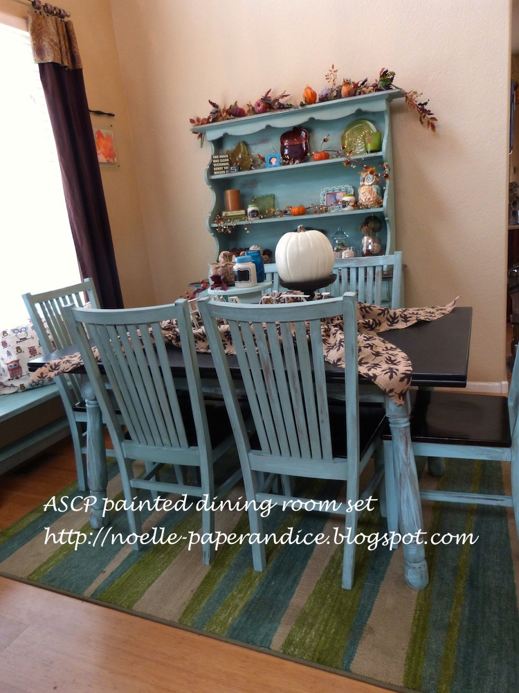 Paper Amp Ice My Quot New Quot Chalk Painted Dining Room Set