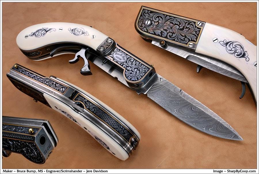 The Underhammer Society Bump Underhammer Pistol Knife