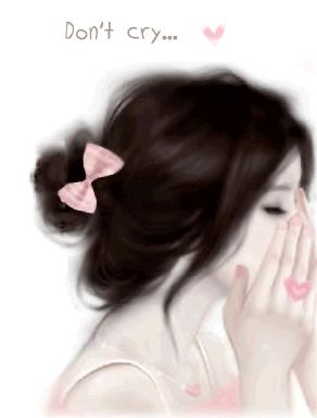Gambar Kartun Korea Sedih