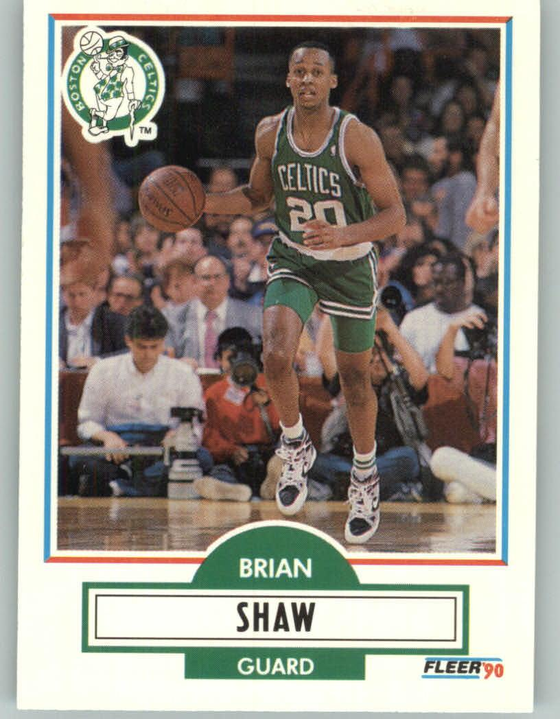 Today in Celtics History Brian Shaw traded