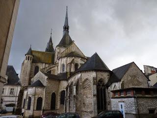 Blois, Iglesia de Saint-Nicolás.
