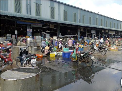 Công nghệ xử lý nước thải chợ