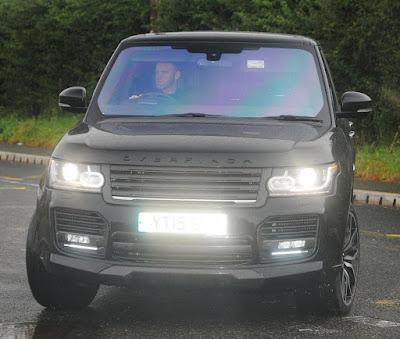 Range Rover Overfinch milik Rooney