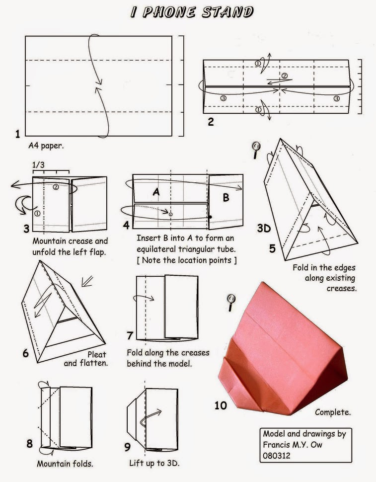 How To Make A Origami Paper Phone