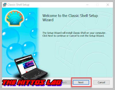 Instalar Classic Shell