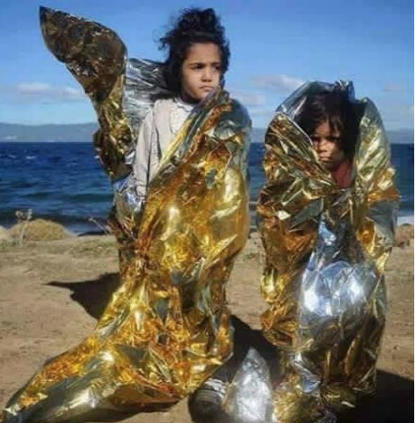 πρόσφυγες στην Μυτιλήνη
