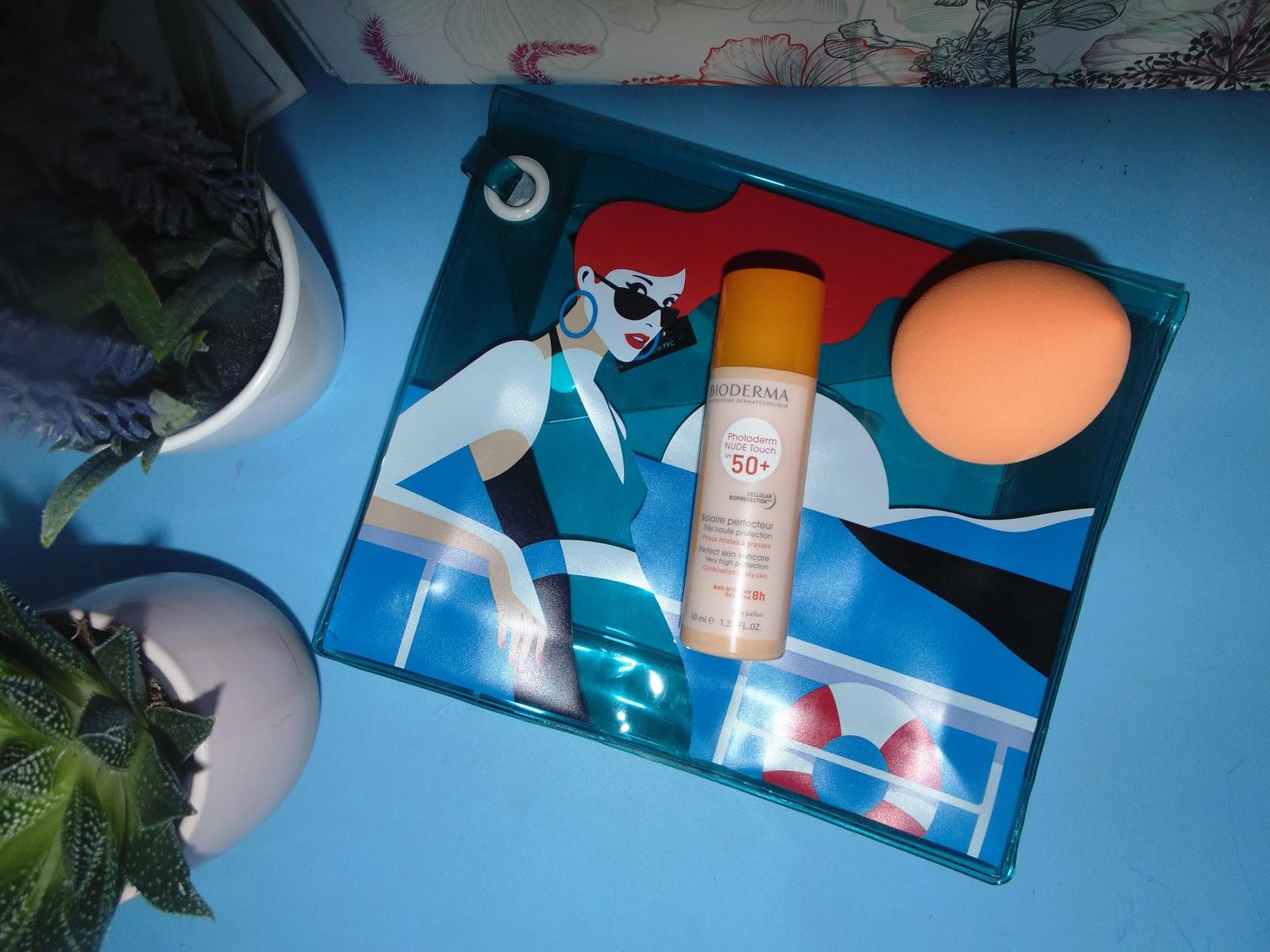 Bioderma Photo Nude Touch z filtrem SPF 50+- ochronny podkład mineralny z efektem Nude