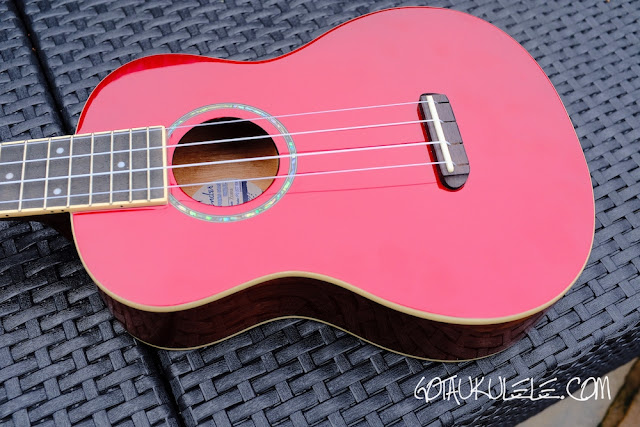 Fender Zuma Ukulele body