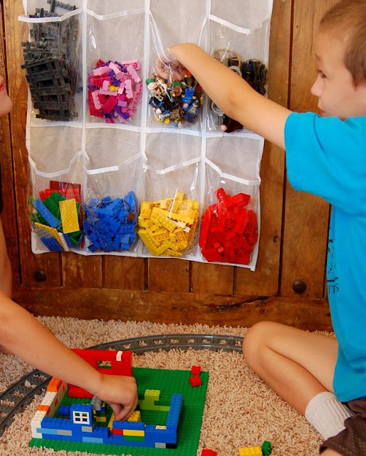 Keep toys organized
