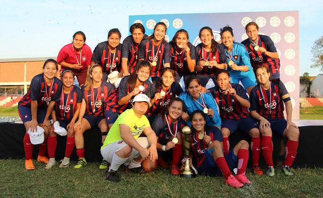 Cerro Porteño, Bicampeón en femenino