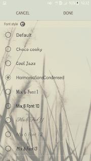 aplikasi ganti font samsung