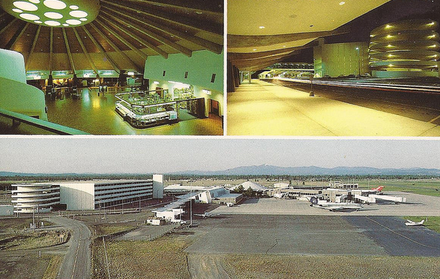 Vintage Spokane Spokane International Airport
