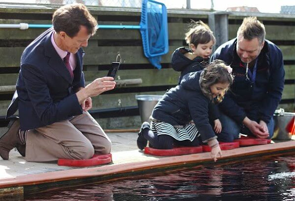 Prince Joachim, Prince Henrik and Princess Athena attended the inauguration of the newly renovated Fjord&Bælts underwater tunnel in Kerteminde