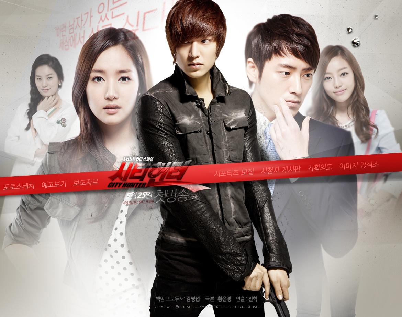 Kết quả hình ảnh cho City Hunter  Top 5 bộ phim làm nên tên tuổi Lee Min Ho ! City Hunter13
