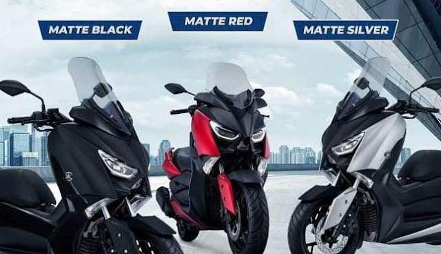 Warna Baru Yamaha Xmax 250 Tahun 2018